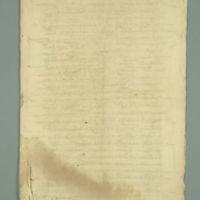 Manuscript Regarding the Monesterio de San Augustin and the Convento de Santa Ana (Spain), February 20, 1578