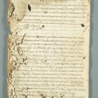 Don Miguel Vendrell y Piug Mathematical Dissertation (Veracruz, Mexico), 1794