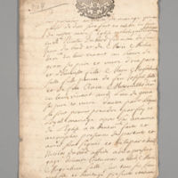 Marriage Contract (France), 1704