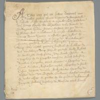 French Language Document, 1633