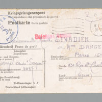 Dangel-Sivadier correspondence, 1941-1942