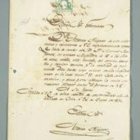 Cuban Slave Documents, circa 1870s
