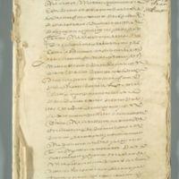 Legal Document (Peru), circa 1615